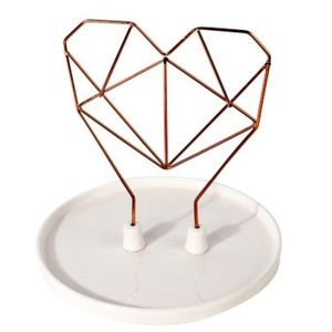IMM Living Coxet Wire Ceramic Jewelry Holder